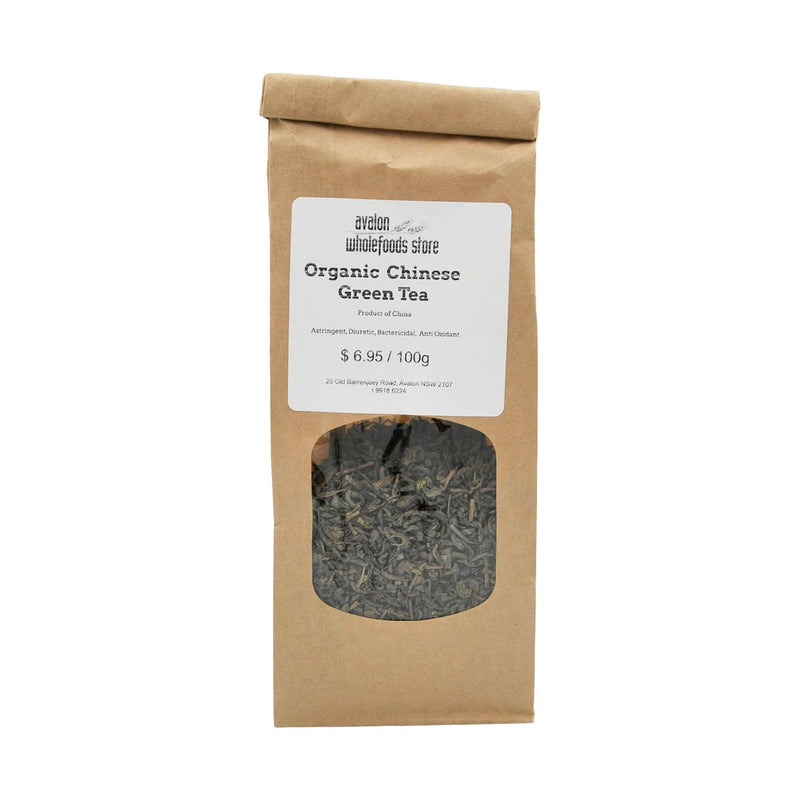 Green Tea 100g - Avalon Wholefoods