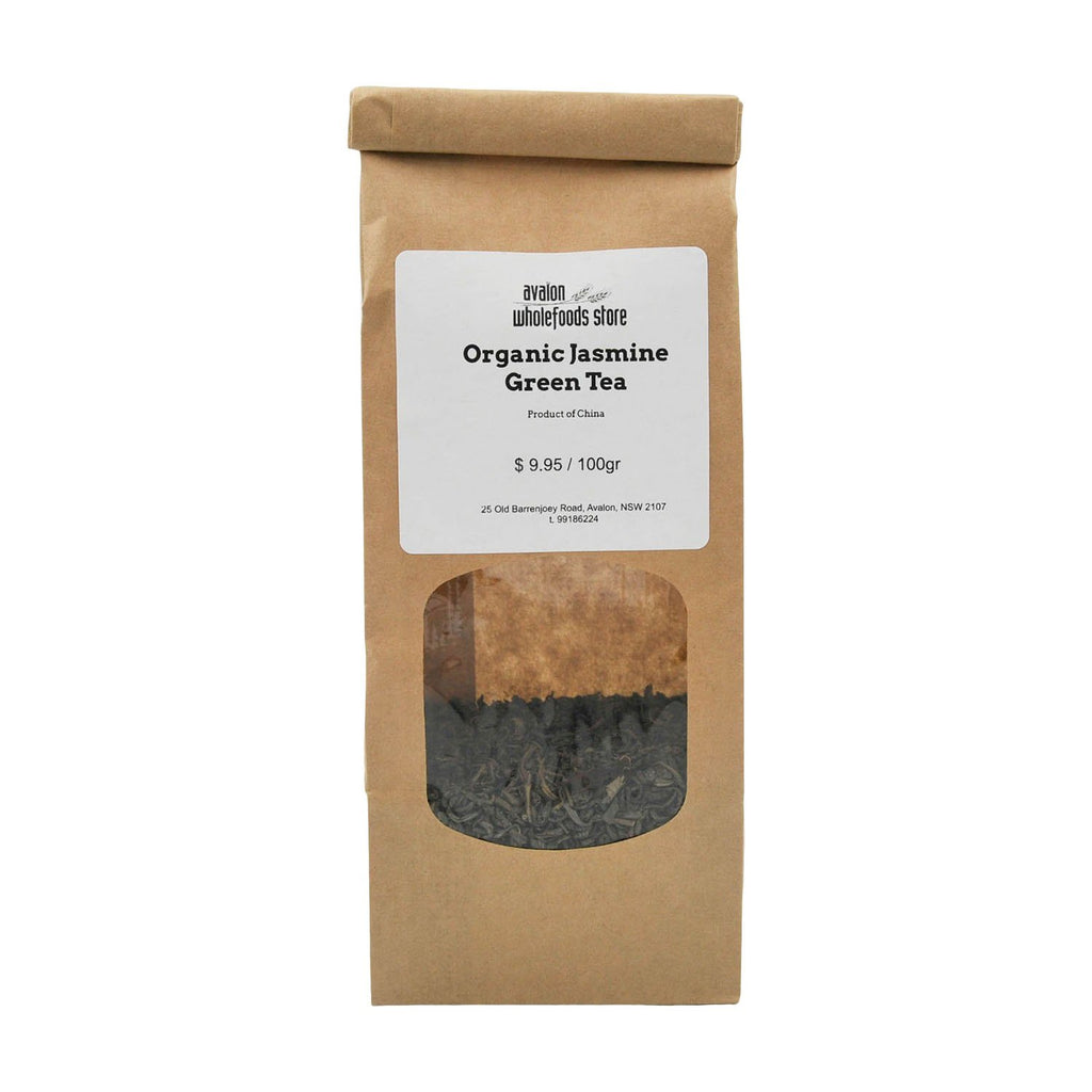 Jasmine Green Tea 100g - Avalon Wholefoods Store