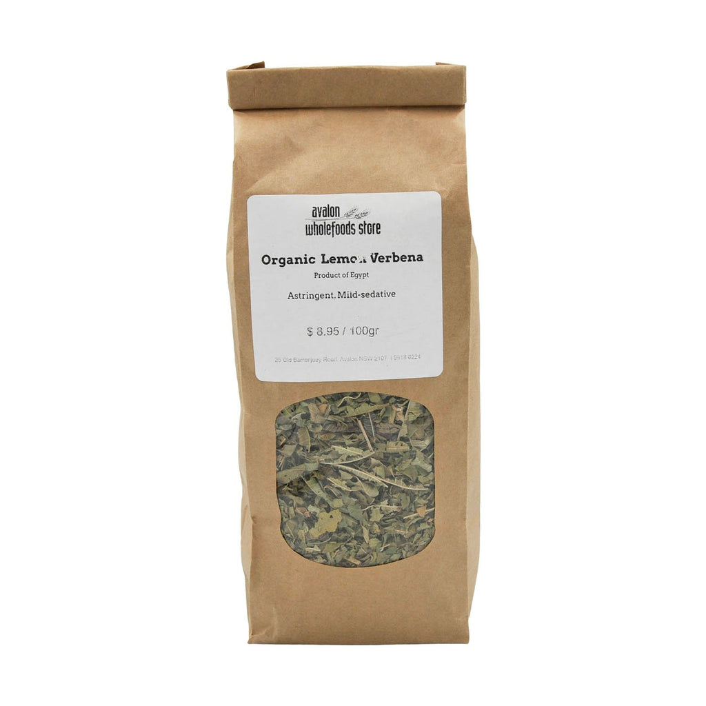 Lemon Verbena Tea 100g - Avalon Wholefoods Store