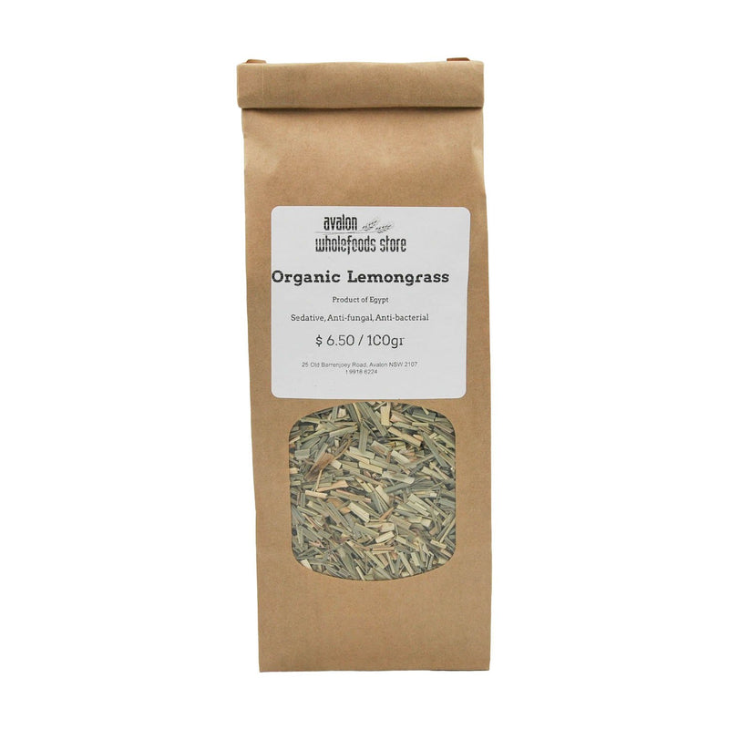 Lemongrass Tea 100g - Avalon Wholefoods