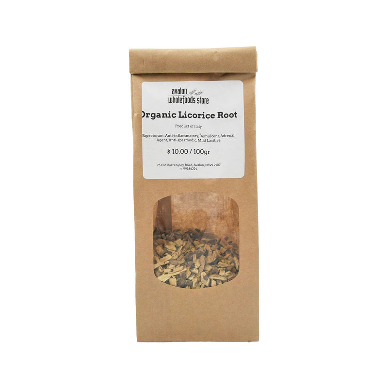 Licorice Root Tea 100g - Avalon Wholefoods Store