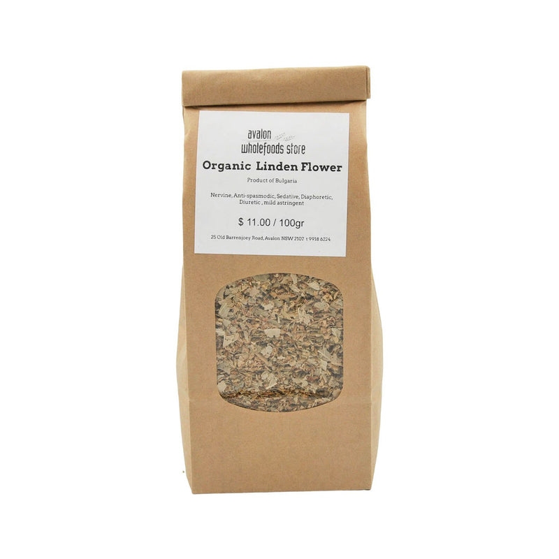 Linden Tea 100g - Avalon Wholefoods