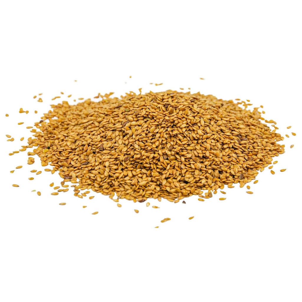 Linseeds Golden Organic 250g - Avalon Wholefoods Store