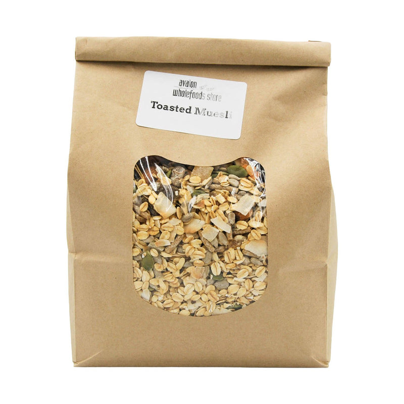 Muesli Toasted 1kg - Avalon Wholefoods