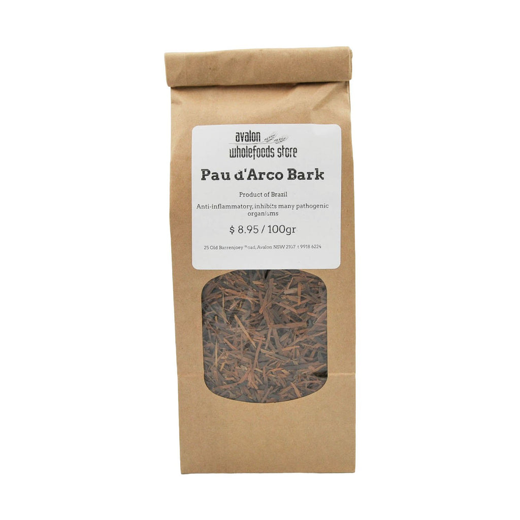 Pau d'Arco Bark Tea 100g - Avalon Wholefoods Store