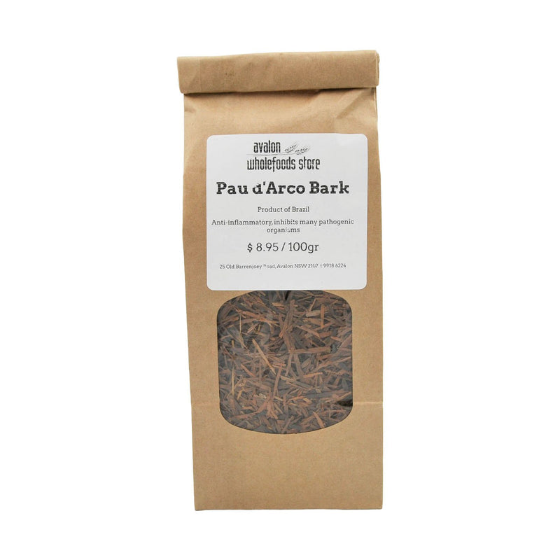 Pau d'Arco Bark 100g - Avalon Wholefoods Store
