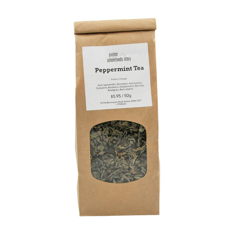 Peppermint Tea 50g - Avalon Wholefoods