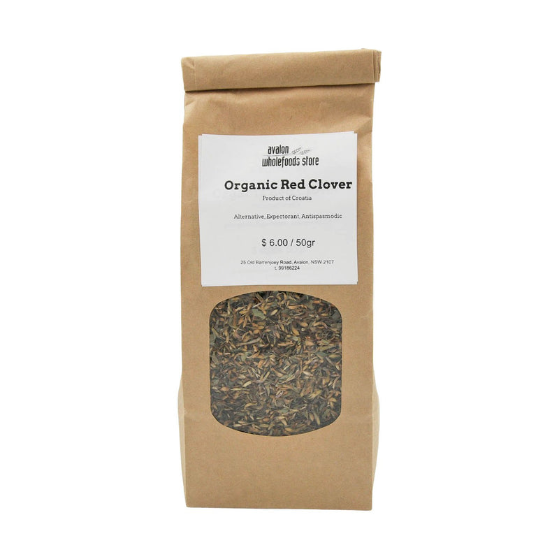 Red Clover Tea 50g - Avalon Wholefoods