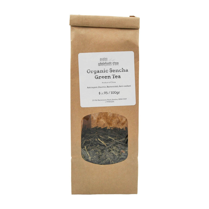 Sencha Tea 100g - Avalon Wholefoods Store