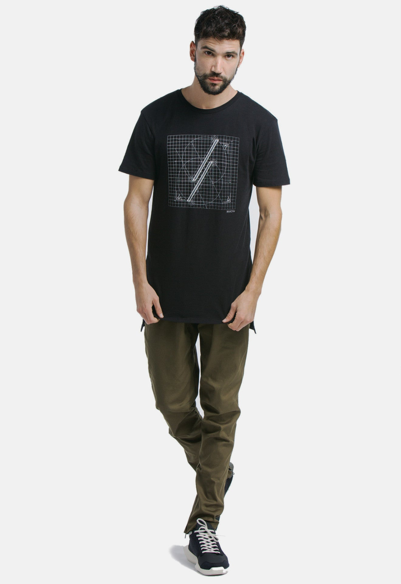 GRAPHICELONGATEDTEE-THEBLUEPRINT(SPACEBLACK)-SELECTIV