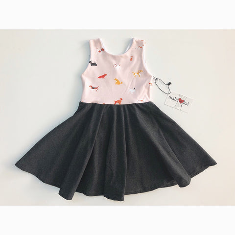 Puppies Dress (50% OFF)