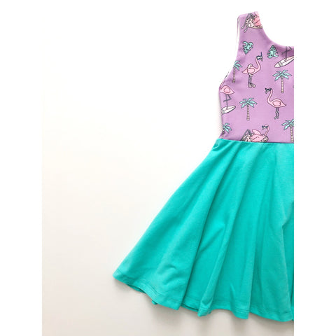 Flamingo Party Dress