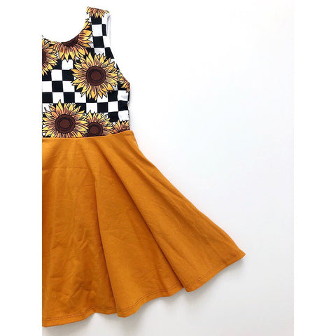 Sunflower Power Dress (25% OFF)