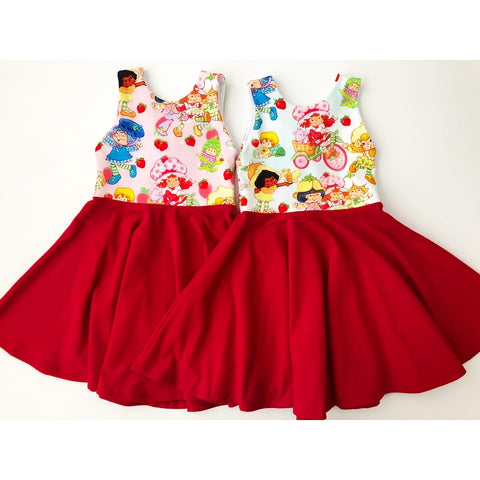 Strawberry Short Stuff Dress (PREORDER)