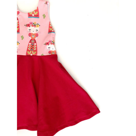 Kitty Kahlo Dress (25% OFF)