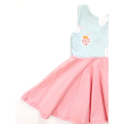 Strawberry Milkshake Dress (50% OFF)