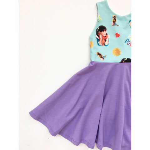 Punky Power Dress (Purple)