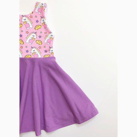 Unicorns Love Tacos Dress (50% OFF)