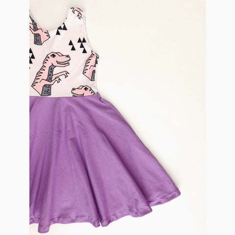 Girly Sharptooth Dress (50% OFF)