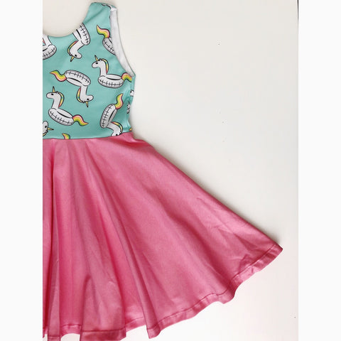 Unicorn Floaties Dress (25% OFF)