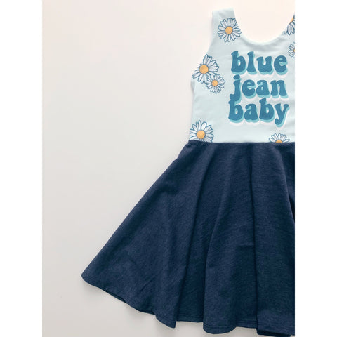 Blue Jean Baby Dress (PREORDER)