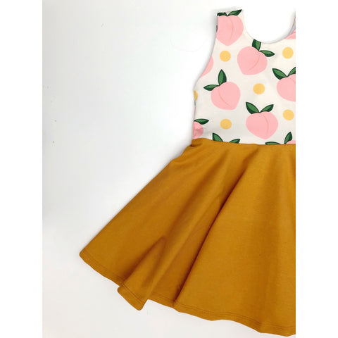 Peaches N Cream Dress (25% OFF)