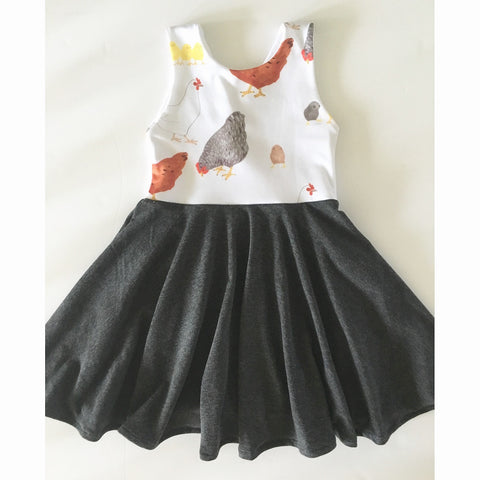 Chickens Dress (PREORDER)
