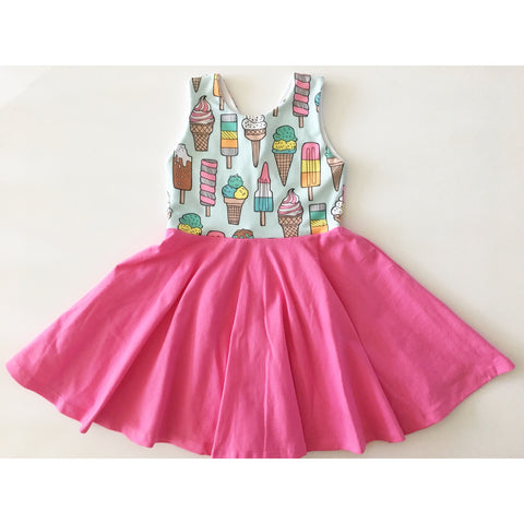 Ice Cream Dress (40% OFF)