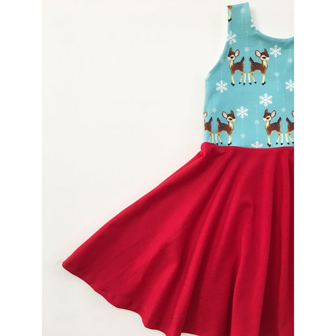 Oh Deer Dress (50% OFF)