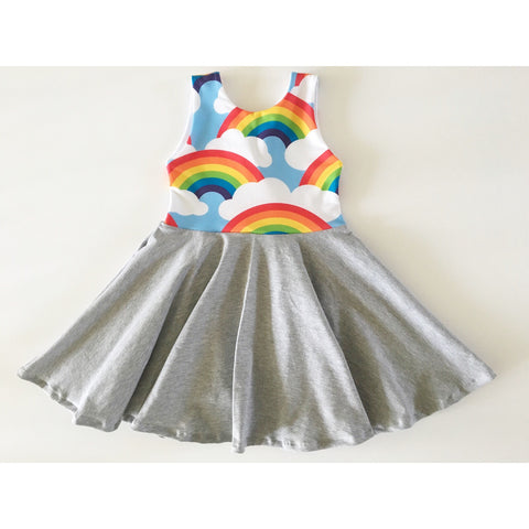 Classic Rainbows Dress (50% OFF)