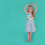 Classic Rainbows Dress (25% OFF)