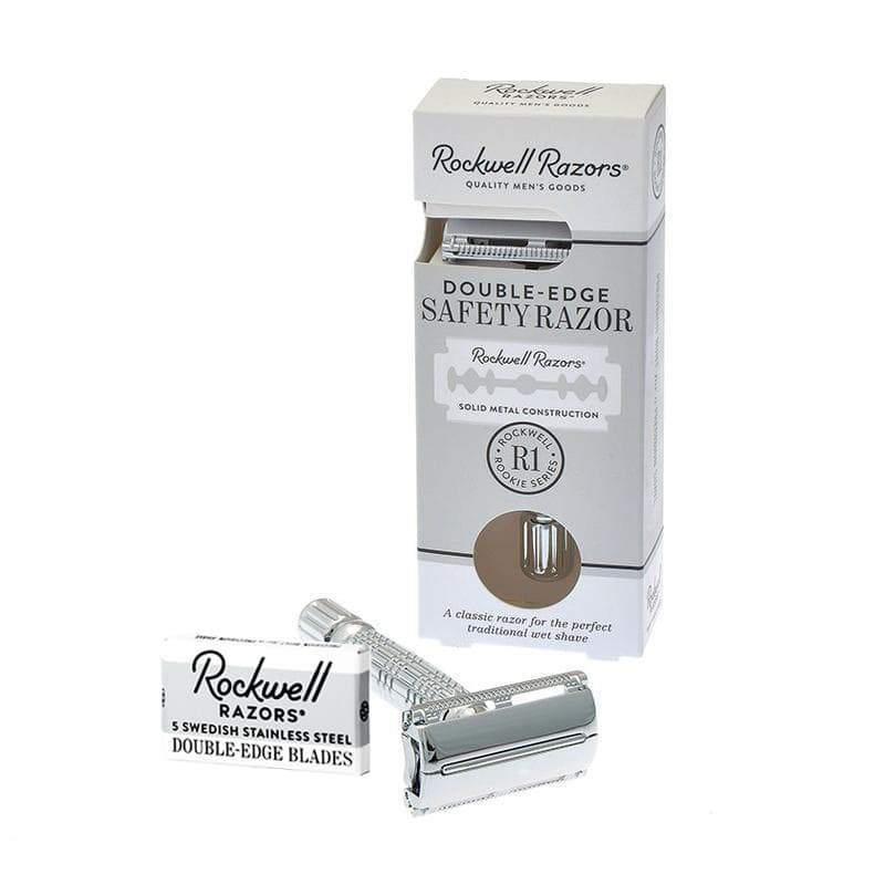 ROCKWELL RAZORS R1 ROOKIE BUTTERFLY SAFETY RAZOR - Dapper Guru