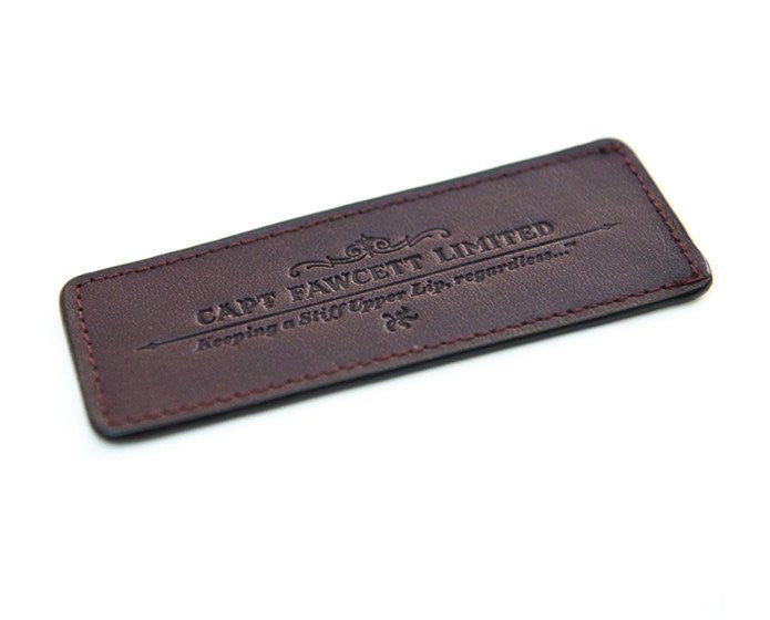 Captian Fawcett's Leather Case for Beard Comb