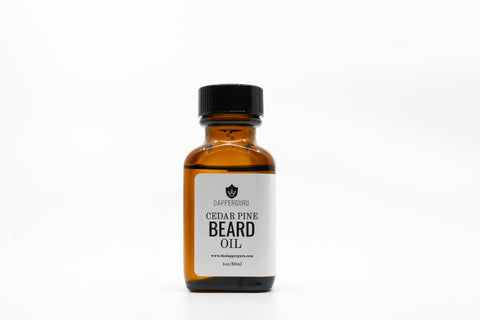 Cedar Pine Beard Oil - Dapper Guru