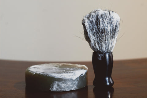 Hunter  Cedar + Fir Needle Shave Soap - Dapper Guru
