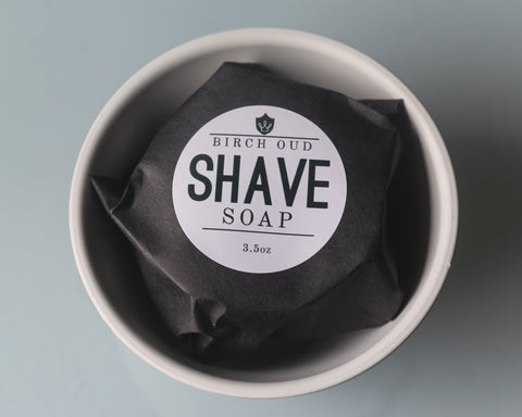 Birch Oud Shave Soap - Dapper Guru