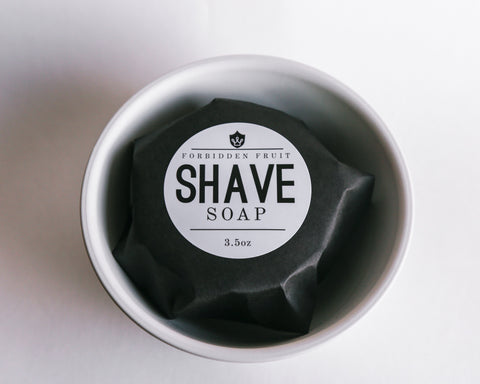 Forbidden Fruit Shave Soap