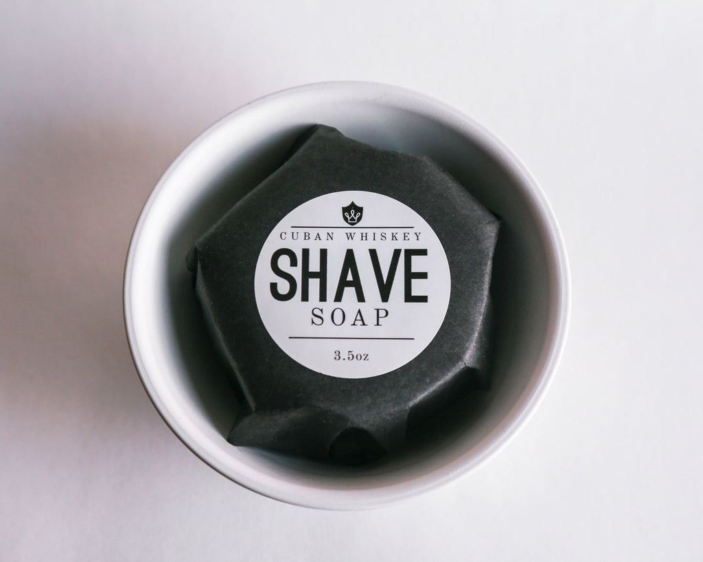 Cuban Whiskey Shave Soap