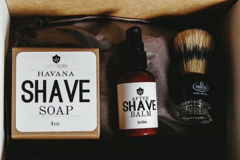 Dapper Shave Pack