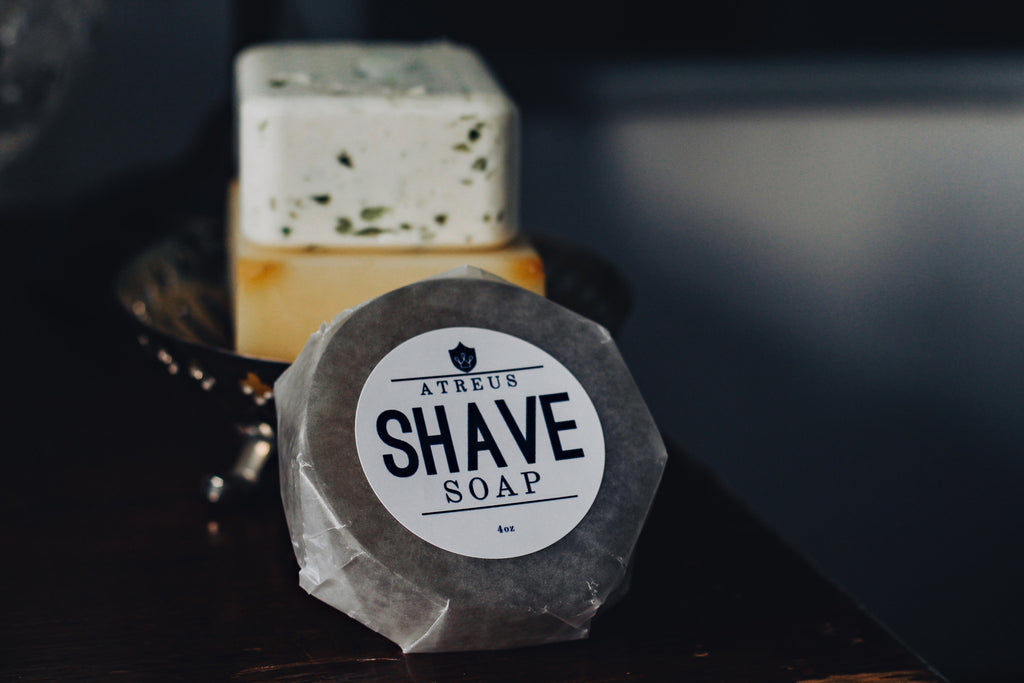 Atreus Bergamot+Blood Orange Shave Soap