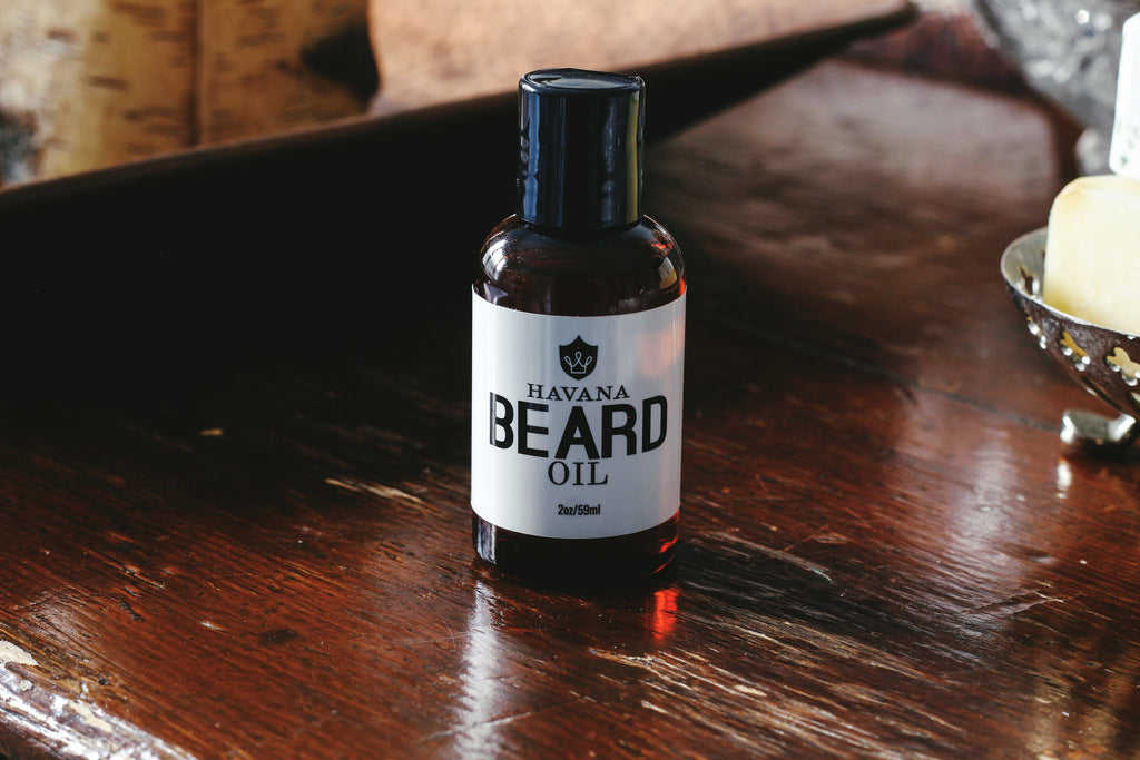 Havana Beard Oil - Dapper Guru