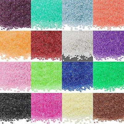 Economical 11/0 #11 Color Lined Rocaille Small Round Glass Seed Beads~Sold in 5 Gram Increments