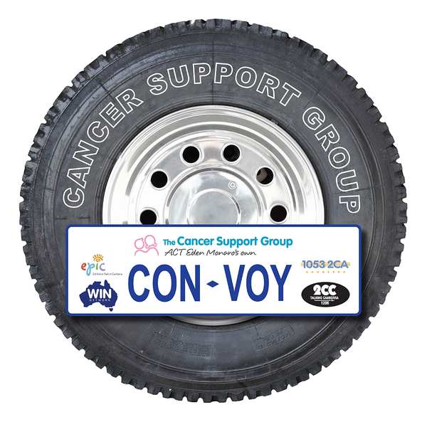 Convoy Stickers