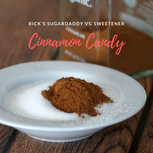Rick's Cinnamon Candy Sugar Daddy -Paragon Flavours