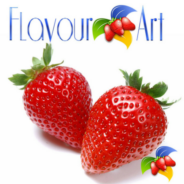 Strawberry by Flavour Art
