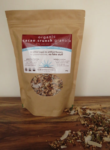 MAPLE VANILLA CRUNCH Granola (Gluten Free)