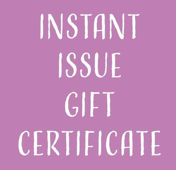 Instant Issue Gift Card
