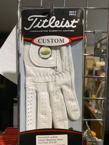 Titleist PermaSoft Glove with Ball marker - For Right Handed Players