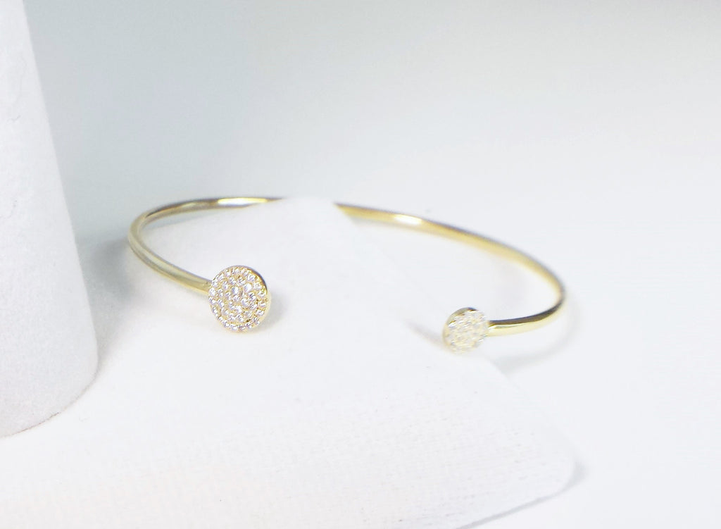 Sterling Silver and zirconias bracelet