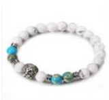 Stainless Steel and Natural Stone Bracelet